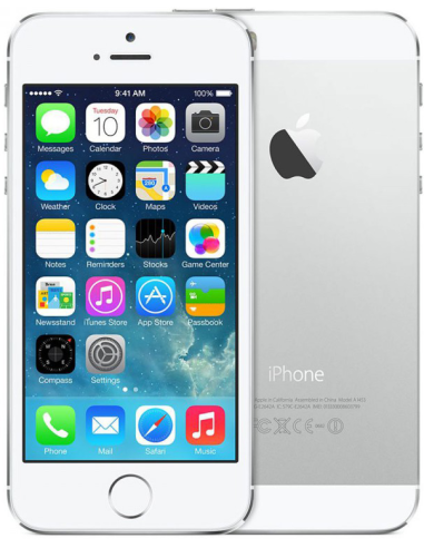 Apple iPhone 5S 32GB White Silver...