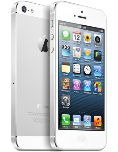 Apple iPhone 5 16GB White Silver...